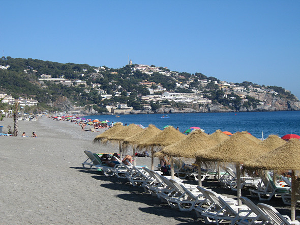 The Beach At La Herradura Bay
